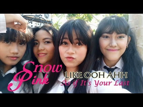 Snow Pink -  Like OOH AHH & As If It's Your Last (Dance Cover Indonesia)