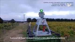 CONTROL DE AVES CON LASER AUTOMATIZADO2... TECHNOLOGY FARMING 2019