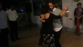 Vals de Cumpleaños de Maria Francisca Abarca en La Milonga de Barquisimeto 1/2