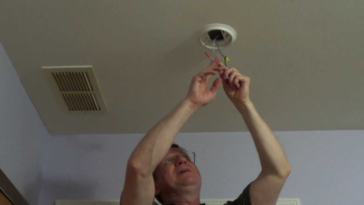 Replacing a Hard Wired Smoke Detector