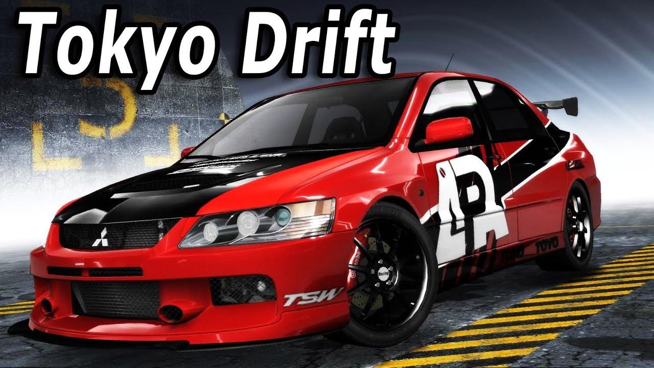 Gta V Mitsubishi Lancer Evo Ix Drifting Youtube