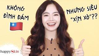 Khai quật những mỹ phẩm MADE IN TAIWAN🇹🇼 đáng mua bất chấp|TOP5 MADE-IN-TAIWAN PRODUCTS|Happy Skin
