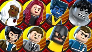 All Handheld Exclusive Characters in Lego Marvel Superheroes!