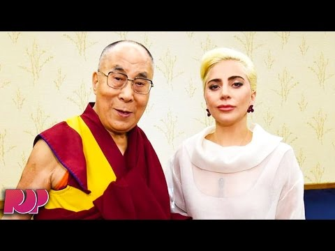 Lady GaGa Is BANNED From China After Meeting With The Dalai Lama