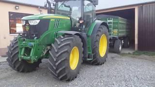 Żniwa 2017 Claas Mega 204 John Deere 6170R Zetor 6340