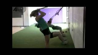 lfl chicago bliss players trx training with ivan at maximum speed and performance
