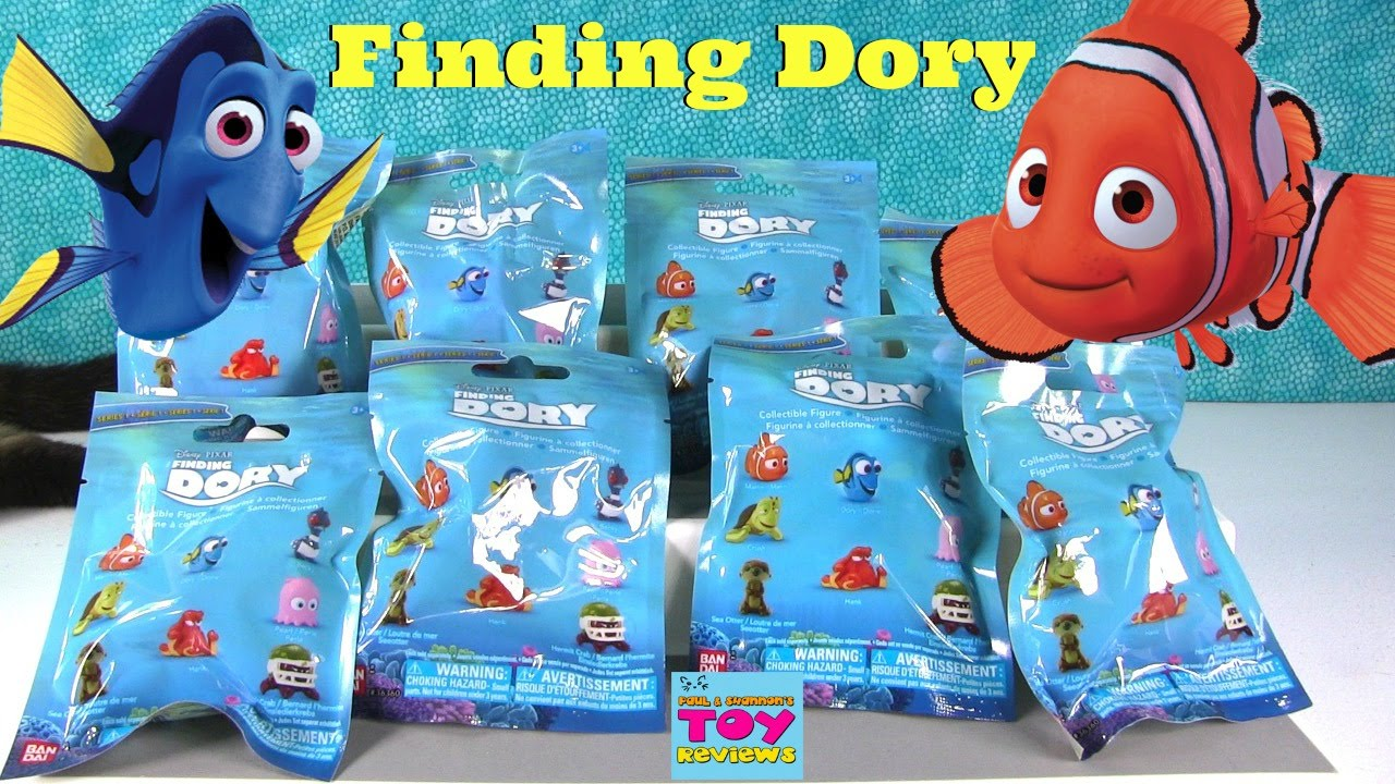 Finding Dory Nemo Disney Pixar Movie Blind Bag Toy Opening