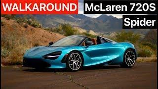 McLaren 720S Spider WALKAROUND