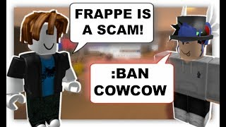 ROBLOX Trolling at Frappe 12
