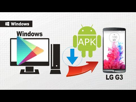 [LG G3]: How to Download Google Play Store Apps to LG G3 / G4 / G Flex 2?