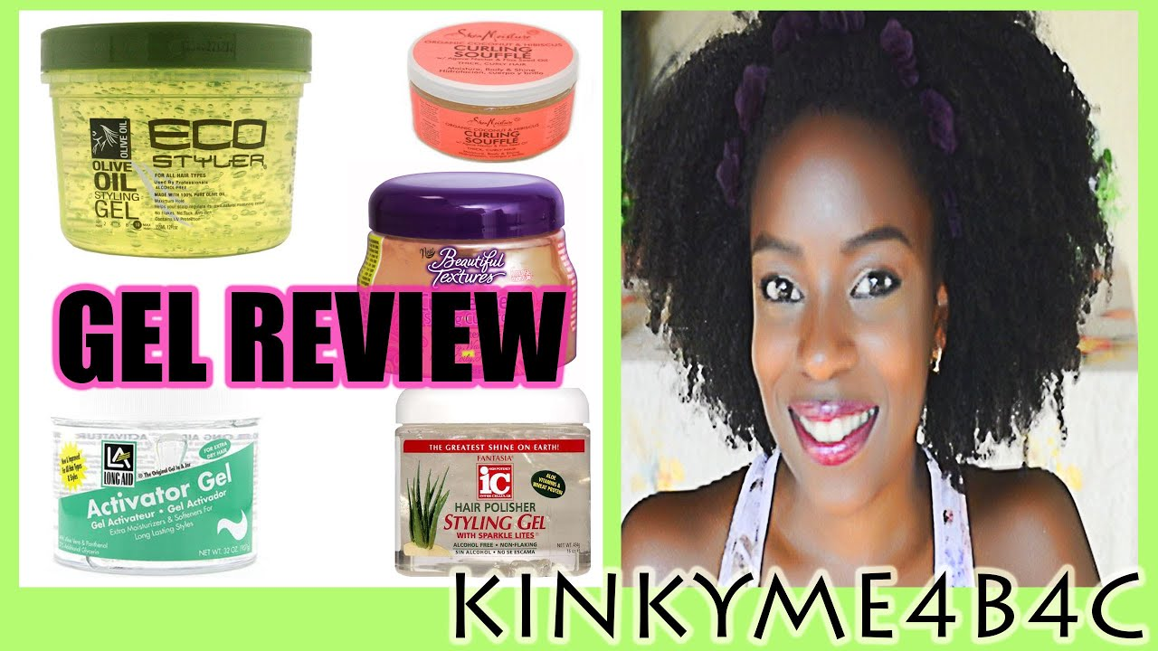 The Best Gel For Defining 4b 4c Natural Hair Youtube