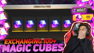 Buying 1000 Magic Cube Fragment And Exchanging With All Magic Cube Bundle OMG At Garena Free Fire