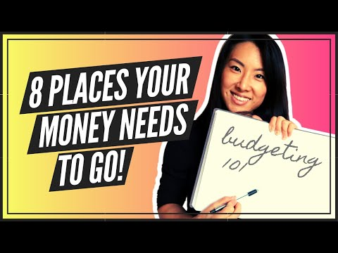 Budgeting For Beginners (8 PLACES YOUR MONEY NEEDS TO GO)