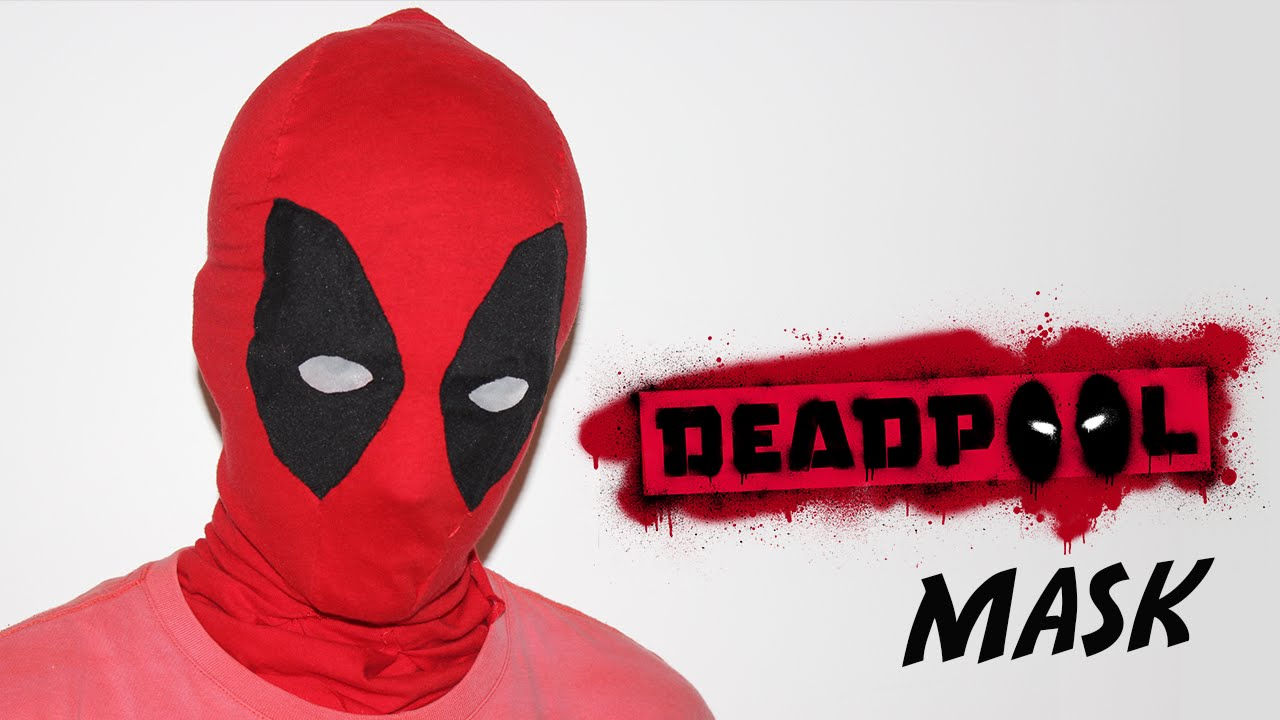 How To Make A Deadpool Mask Youtube