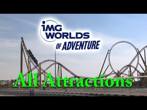 IMG Worlds of Adventure Dubai Attractions & Impressions