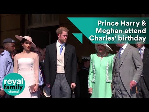 Duke and Duchess of Sussex, Prince Harry and Meghan, attend Prince Charle's 70th birthday