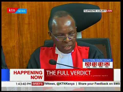 Supreme Court Judge, Jackton Ojwang' outlines his dissenting verdict [Part 1]