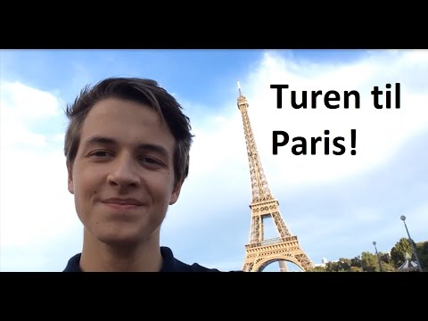 Turen til Paris! Elias  Kender du det