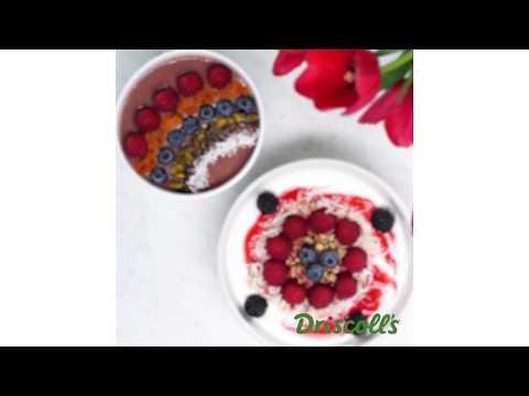 Raspberry Smoothie Bowl Recipes Driscoll's