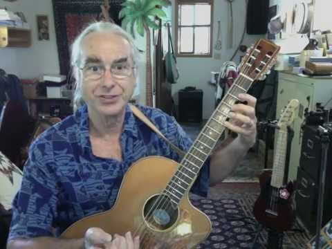 Getting Started Playing Slack Key Guitar: Lesson 1