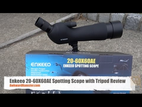 Enkeeo 20-60X60AE Spotting Scope with Tripod Review