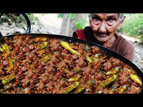 Chilli Chicken Fry Recipe By Mastanamma |Country foods|