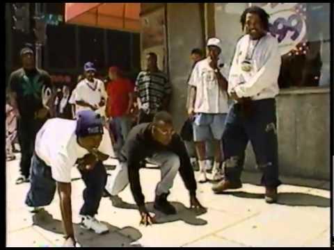 Tupac with John Singleton  Foot Race 07.1993