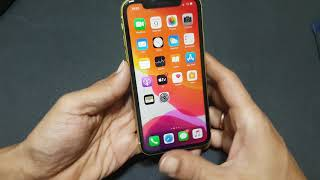 iPhone 11 how to switch off and Restart