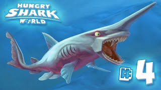 Floppy Goblin Shark - Hungry Shark World | Ep4 HD