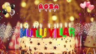 ROZA İyi ki doğdun -  Roza İsme Özel Doğum Günü Şarkısı