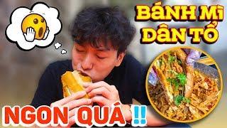 Trời ơi, Bánh mì Dân Tổ ngon quá!! | Người Hàn lần đầu ăn Bánh mì Dân tổ ở Sài Gòn