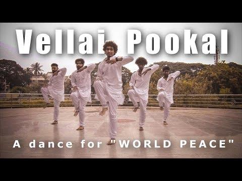 "A dance for WORLD PEACE | Ravi Varma Choreography | ""Vellai Pookal"" - A R Rahman"