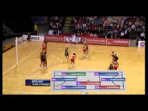 Netball: Silver Ferns v England International Series 2011 Test 1