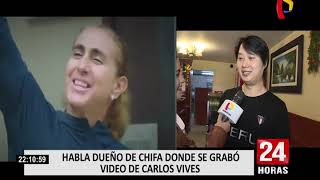 Habla Dueño De Chifa Donde Carlos Vives Grabó