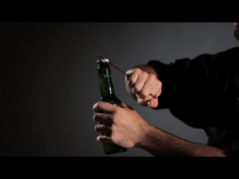 How to Open a Beer with Flair | Flair Bartending