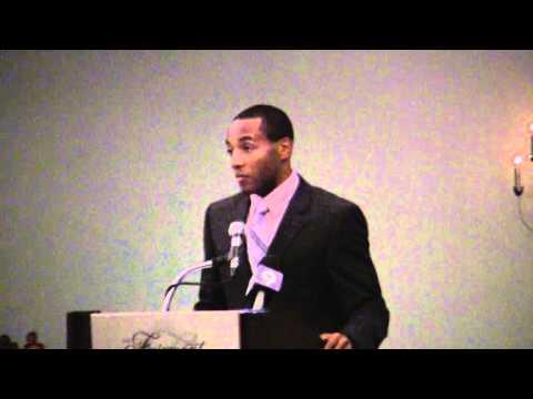 Tyrone Smith At BTFA Award Banquet Bermuda December 18 2011