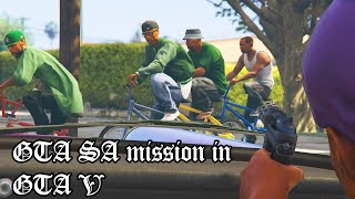 GTA San Andreas First Mission in GTA 5!