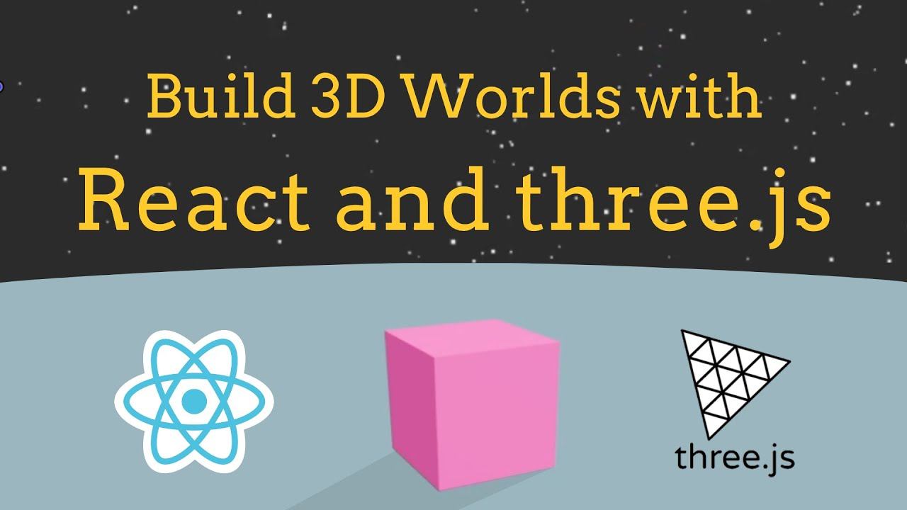 Build a 3D World in React with Three.js - [React Three Fiber Tutorial]