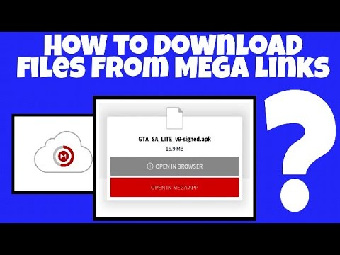 How to download files from MEGA | Mega app | Mega Links | Fast Downloading  | by softtricks