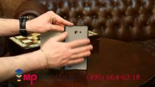 Чехол-книжка для Huawei Ascend G600 (U8950) черный кожаный
