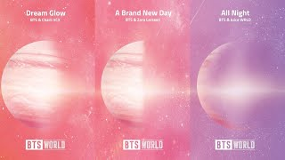 Baixar BTS World Original Soundtrack - OST Pt.1,2,3 (Dream Glow, A Brand New Day &  All Night)