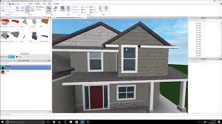 ROBLOX Studio Suburban house building timelapse