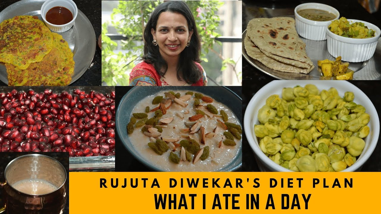 I Followed Rujuta Diwekar Weight Loss Diet Plan For A Day Summer Edition 2019 Youtube This diet plan is very simple n healthy. i followed rujuta diwekar weight loss diet plan for a day summer edition 2019