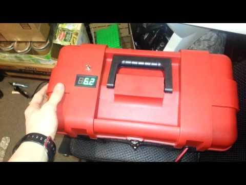 Canoe trolling motor setup power supply setup youtube for What is the best trolling motor battery