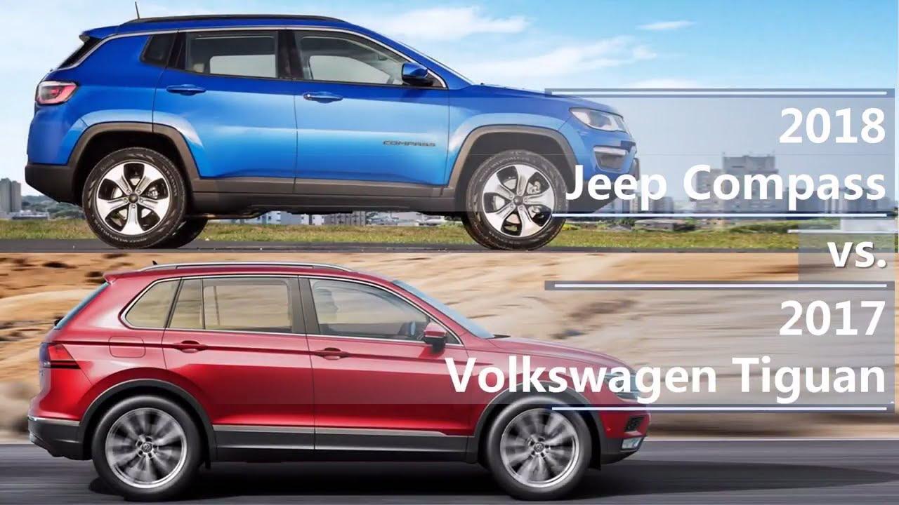 2018 jeep compass vs 2017 volkswagen tiguan technical. Black Bedroom Furniture Sets. Home Design Ideas