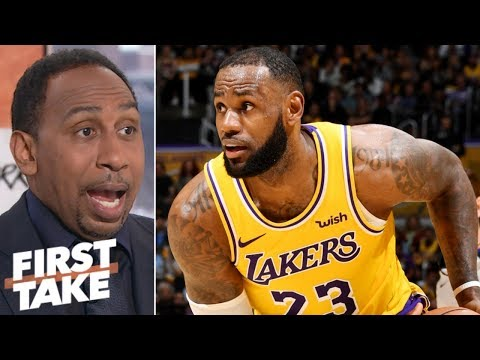 LeBron set to burn out? Stephen A. says ' Lakers need to 'slow it down' | First Take
