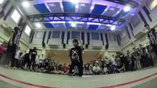 Tri Uni 2v2 Hip Hop | Audition Round 2: Amandaconda Duc VS Koufu Western Food
