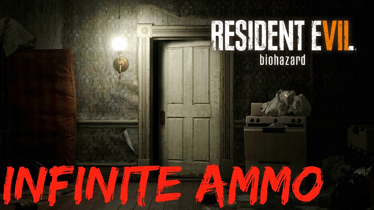 how to unlock infinite ammo in resident evil 7