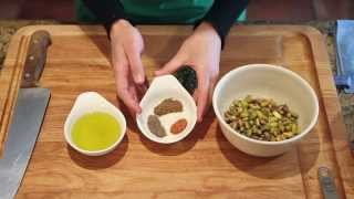 Zesty Garbanzo Beans With Pistachios - Rancho Vignola Recipes