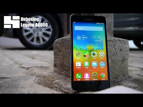 Unboxing Lenovo A6000 Indonesia